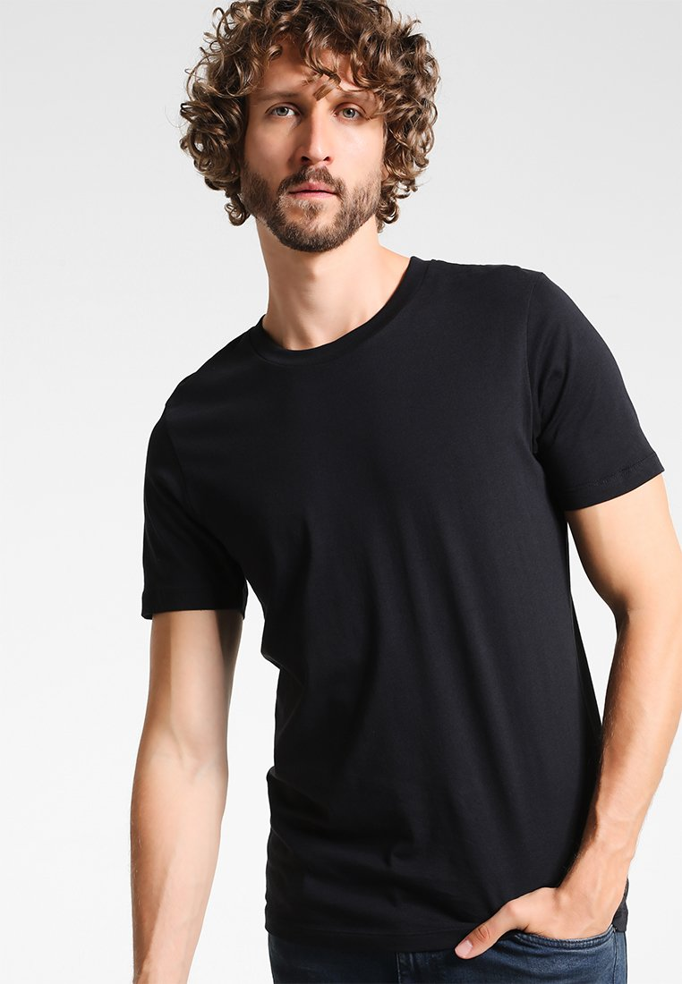 Selected Homme - SHDTHEPERFECT - Basic T-shirt - black