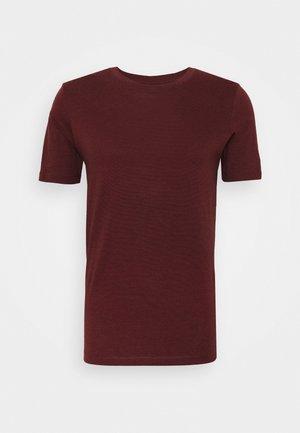 SHDTHEPERFECT ONECK TEE - T-shirt imprimé - black