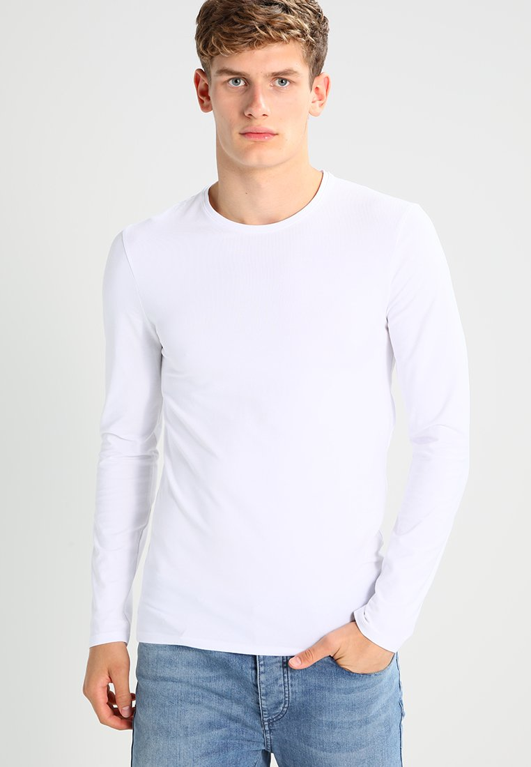 Selected Homme - SHDBASIC - Long sleeved top - bright white