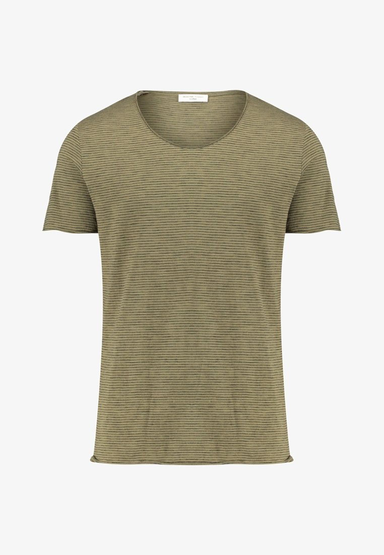 Selected Homme - T-Shirt print - olive