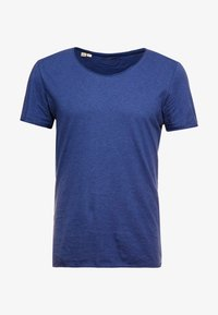 Selected Homme - SHNNEWMERCE O-NECK TEE - T-shirt basique - blue - 4