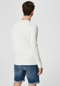 Selected Homme - Long sleeved top - bone white - 2