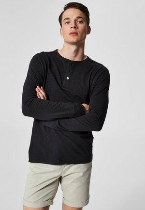 Bluzka z długim rękawem - black beauty