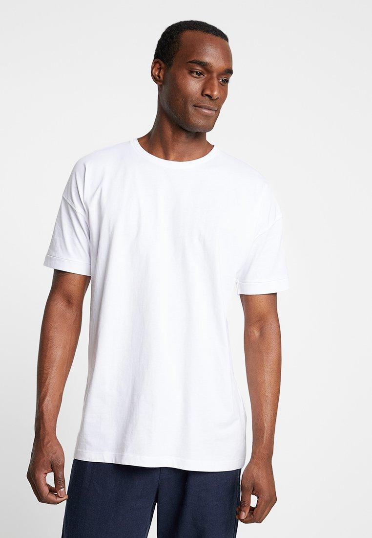 Selected Homme - SLHEMIL - T-shirt basic - bright white