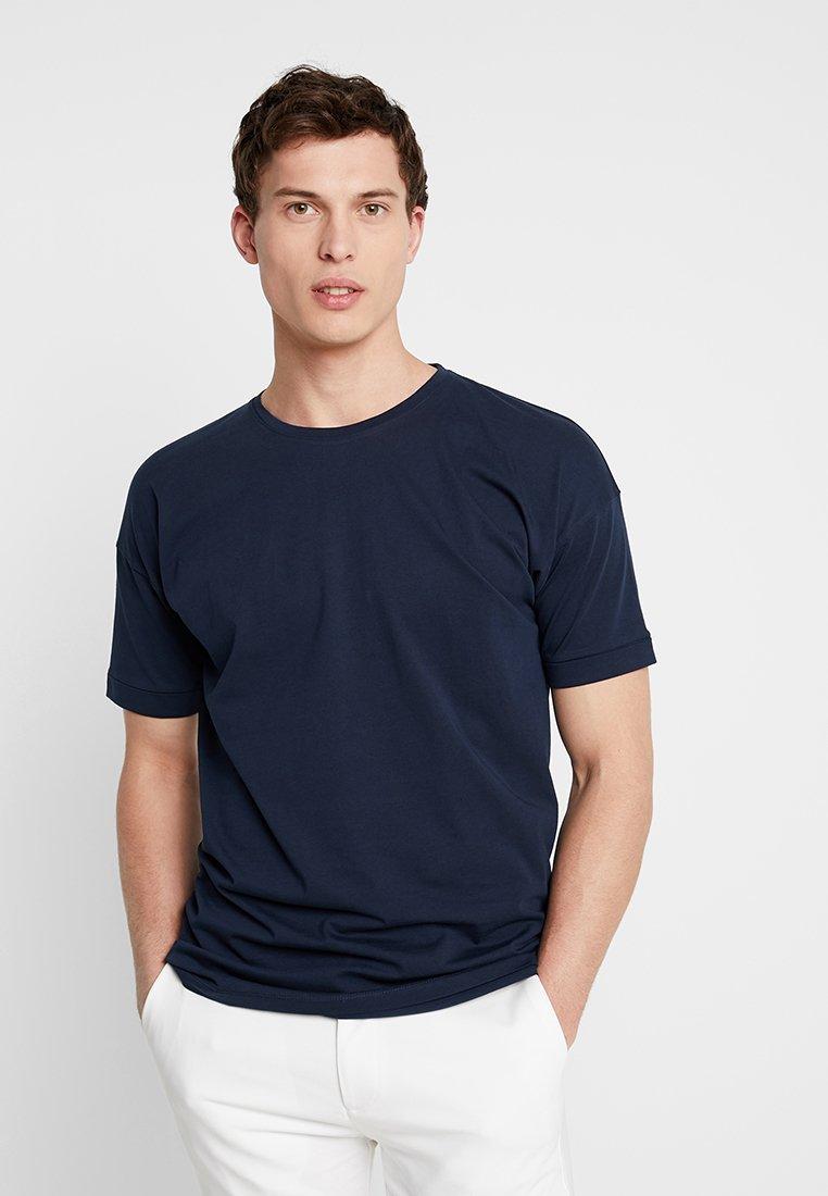 Selected Homme - SLHEMIL - T-shirts basic - dark sapphire
