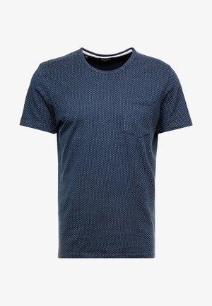 SLHMUTE - Camiseta estampada - dark sapphire