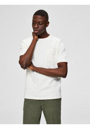 Basic T-shirt - egret