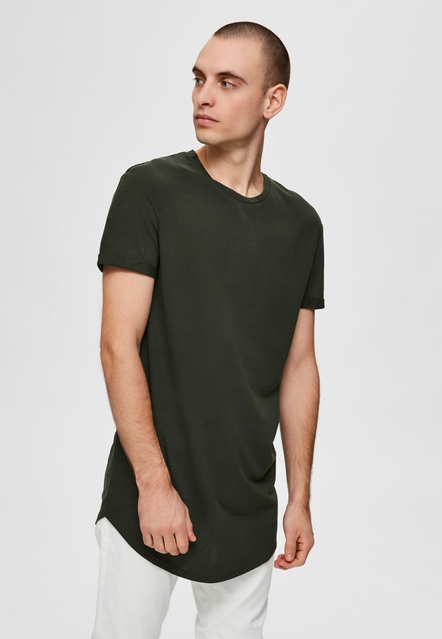 ABGERUNDETES  - Basic T-shirt - cypress