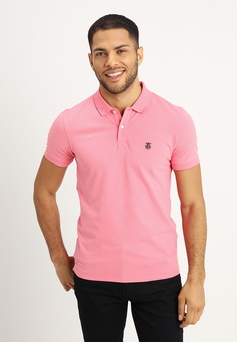 Selected Homme - SHDARO EMBROIDERY - Polo - bubblegum