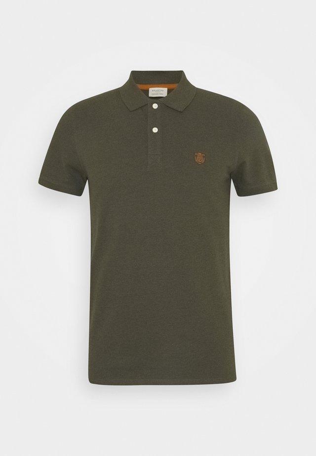 SHDARO EMBROIDERY - Poloshirt - rosin