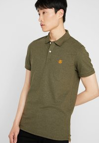 Selected Homme - SHDARO EMBROIDERY - Polo shirt - sea turtle - 0