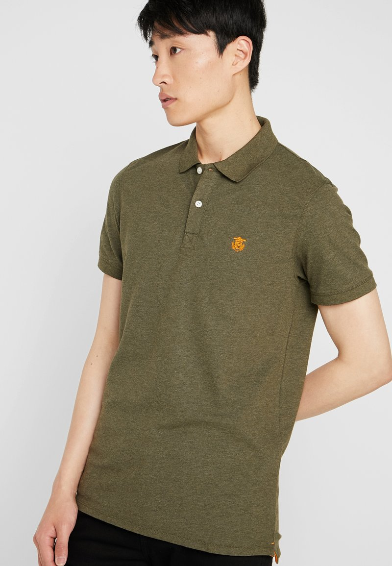 Selected Homme - SHDARO EMBROIDERY - Polo shirt - sea turtle