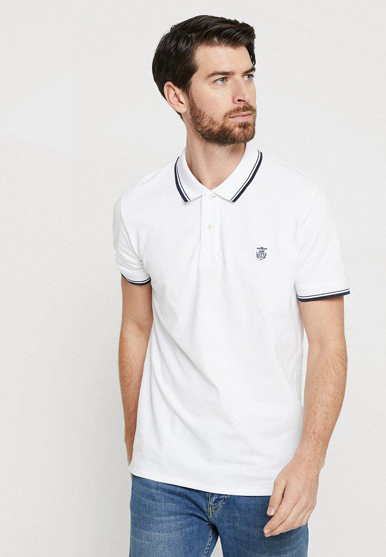 Selected Homme - SLHNEWSEASON - Pikeepaita - bright white