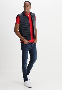 Selected Homme - SLHNEWSEASON  - Poloshirt - true red - 1