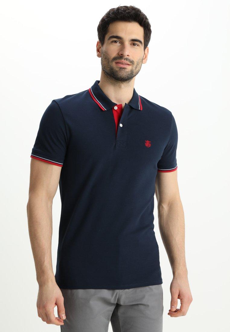 Selected Homme - SLHNEWSEASON  - Pikeepaita - navy blazer