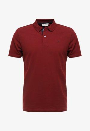 SLHLUKE SLIM FIT - Polo shirt - syrah