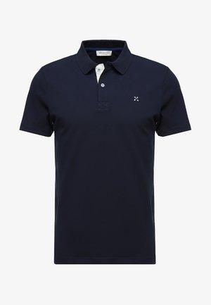 SLHLUKE SLIM FIT - Pikeepaita - navy blazer