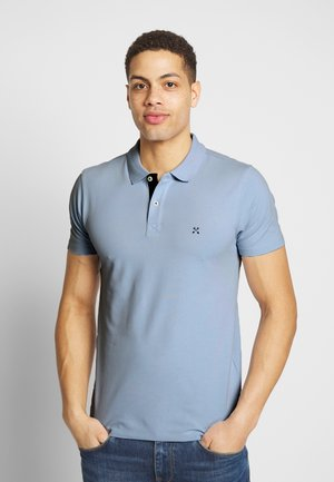 SLHLUKE SLIM FIT - Poloshirt - skyway