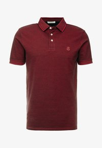 Selected Homme - SLHTWIST  - Poloshirt - red dahlia/twisted with black - 3