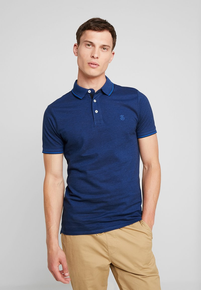 Selected Homme - SLHTWIST  - Poloshirts - limoges/black