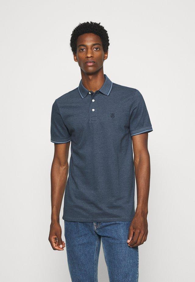 SLHTWIST  - Polo shirt - china blue/dark sapphir