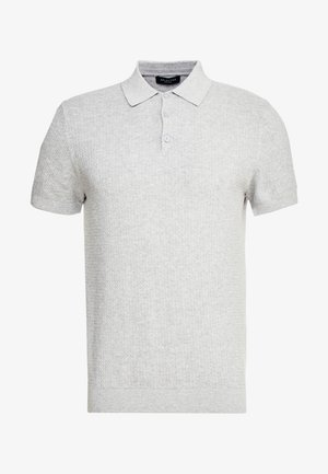 SLHVIRGO NECK  - Polotričko - light grey melange