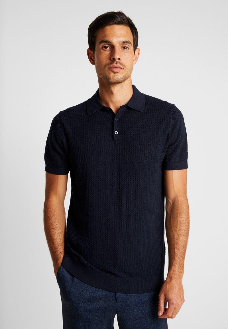 Selected Homme - SLHVIRGO NECK  - Poloshirt - dark sapphire