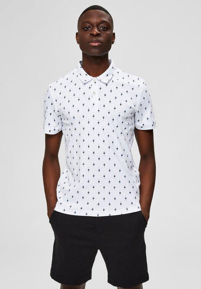 POLOSHIRT REGULAR FIT - Koszulka polo - bright white