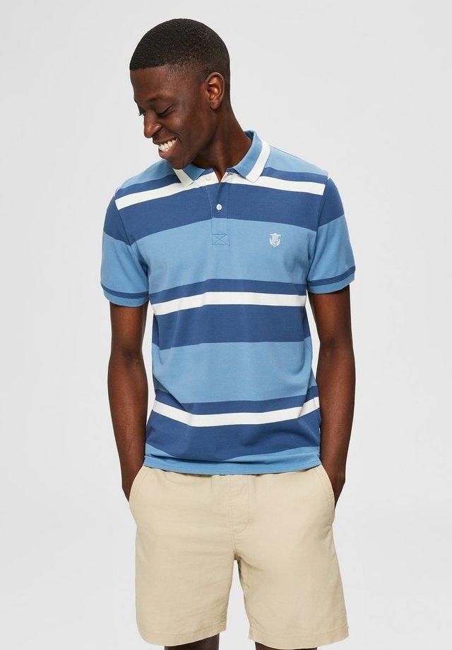 Koszulka polo - blue heaven