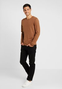 Selected Homme - SHDDOME CREW NECK - Strikpullover /Striktrøjer - monks robe/melange - 1