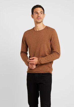 SHDDOME CREW NECK - Jumper - monks robe/melange