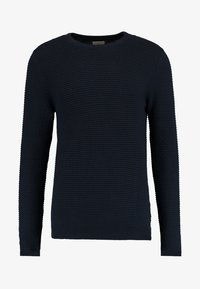 Selected Homme - SHHNEWDEAN CREW NECK - Stickad tröja - dark sapphire - 4