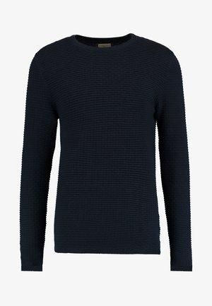 SHHNEWDEAN CREW NECK - Stickad tröja - dark sapphire