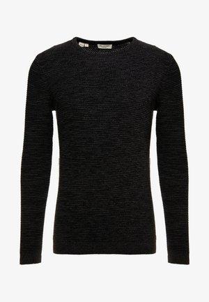 SHXNEWVINCEBUBBLE CREW NECK - Sweter - antracit/black