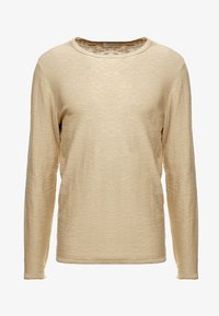Selected Homme - SLHNEWACIDS CREW NECK - Trui - cornstalk - 3