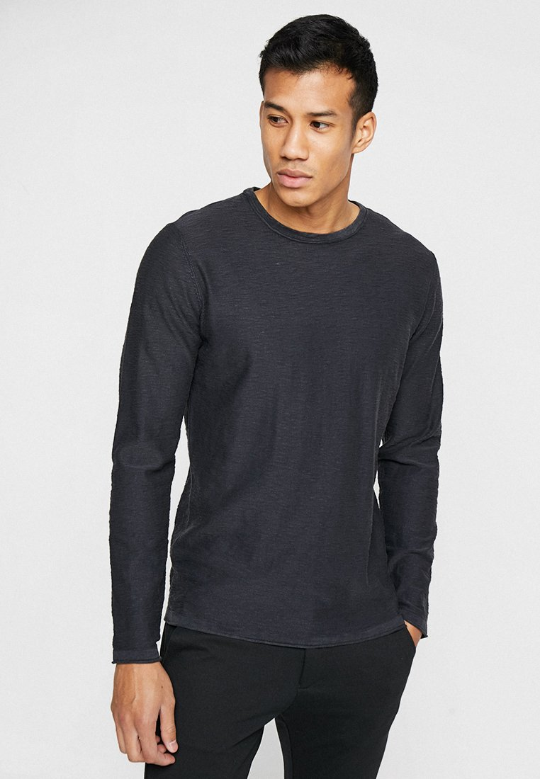 Selected Homme - SLHNEWACIDS CREW NECK - Trui - black