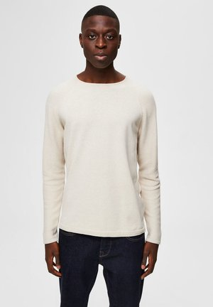 Sweatshirt - light sand melange