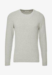 Selected Homme - SLHOLIVER  - Stickad tröja - light grey melange - 3