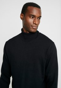 Selected Homme - SLHTOWER ROLL NECK  - Pullover - black - 4