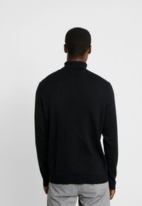 Selected Homme - SLHTOWER ROLL NECK  - Pullover - black - 2