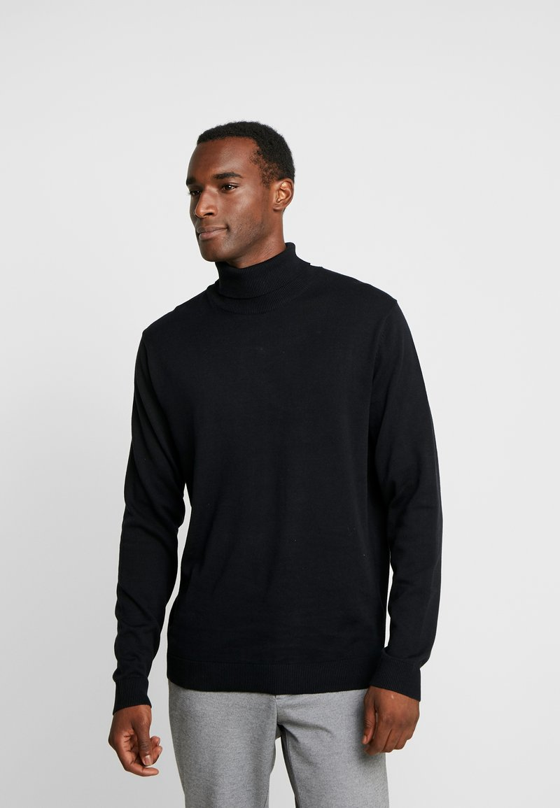 Selected Homme - SLHTOWER ROLL NECK  - Trui - black