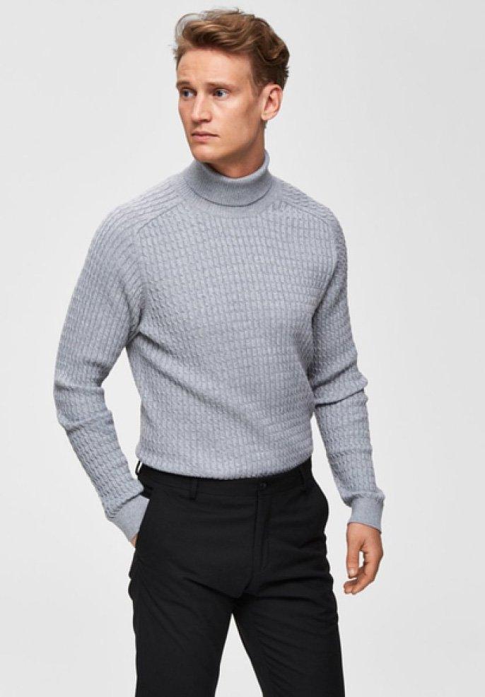 Selected Homme - SLHCARLOS  - Jumper - light grey
