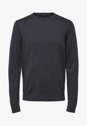 SLHDANIEL  - Strickpullover - medium grey melange
