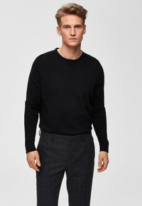 Selected Homme -  SLHDANIEL  - Trui - black - 0