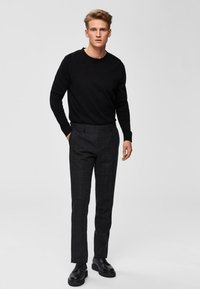 Selected Homme -  SLHDANIEL  - Trui - black - 1