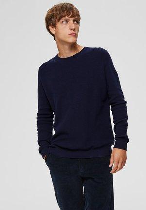 Strikpullover /Striktrøjer - dark blue