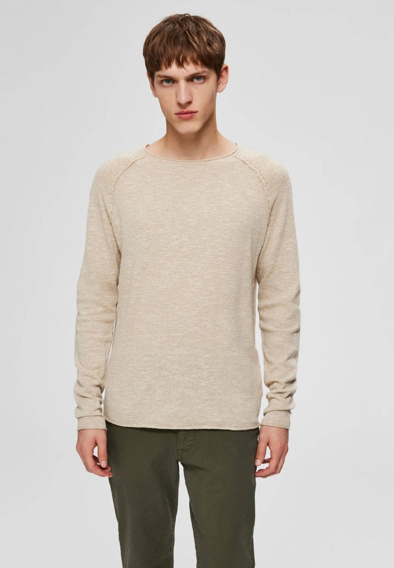 Selected Homme - Jumper - weiss (10)
