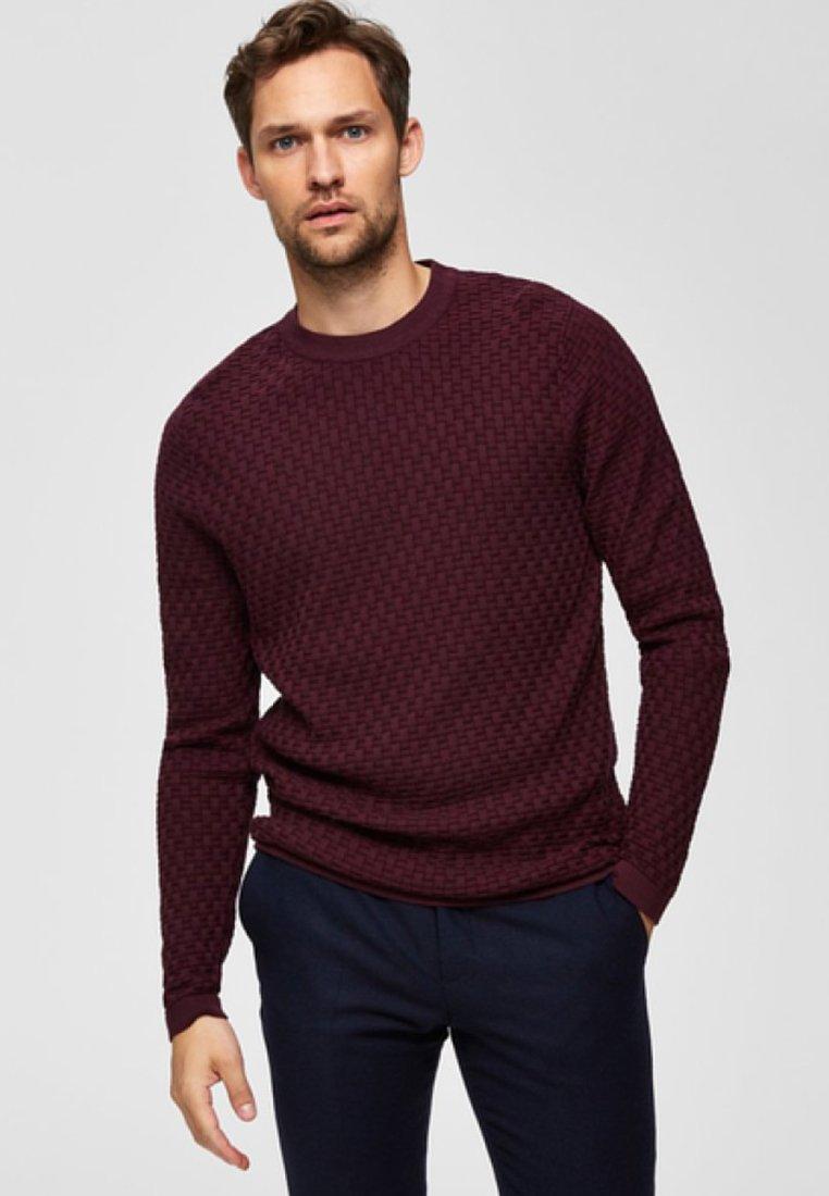 Selected Homme - Sweatshirt - winetasting