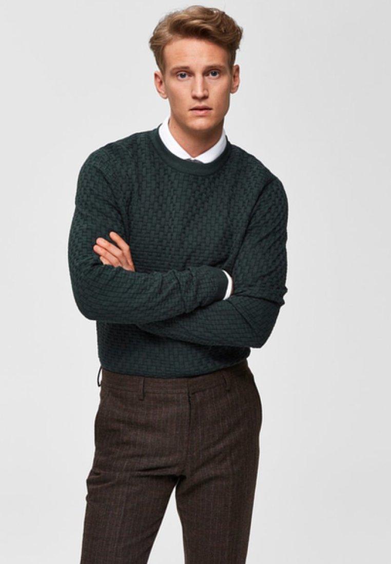 Selected Homme - Sweatshirt - dark green
