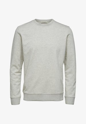SWEATSHIRT REGULAR FIT - Collegepaita - egret